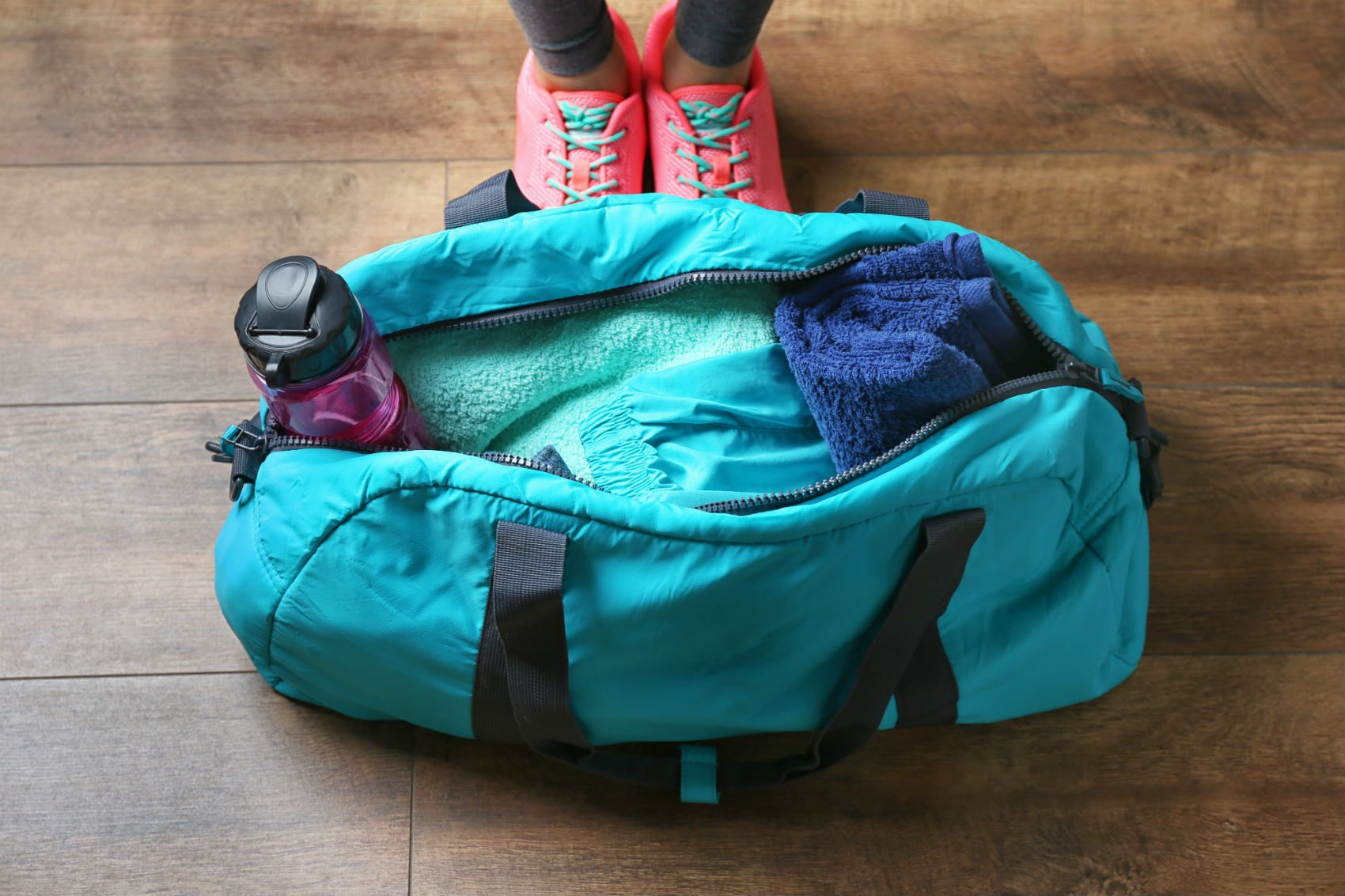 #whatsinmybag: Inspirational Gym Bag Supplies