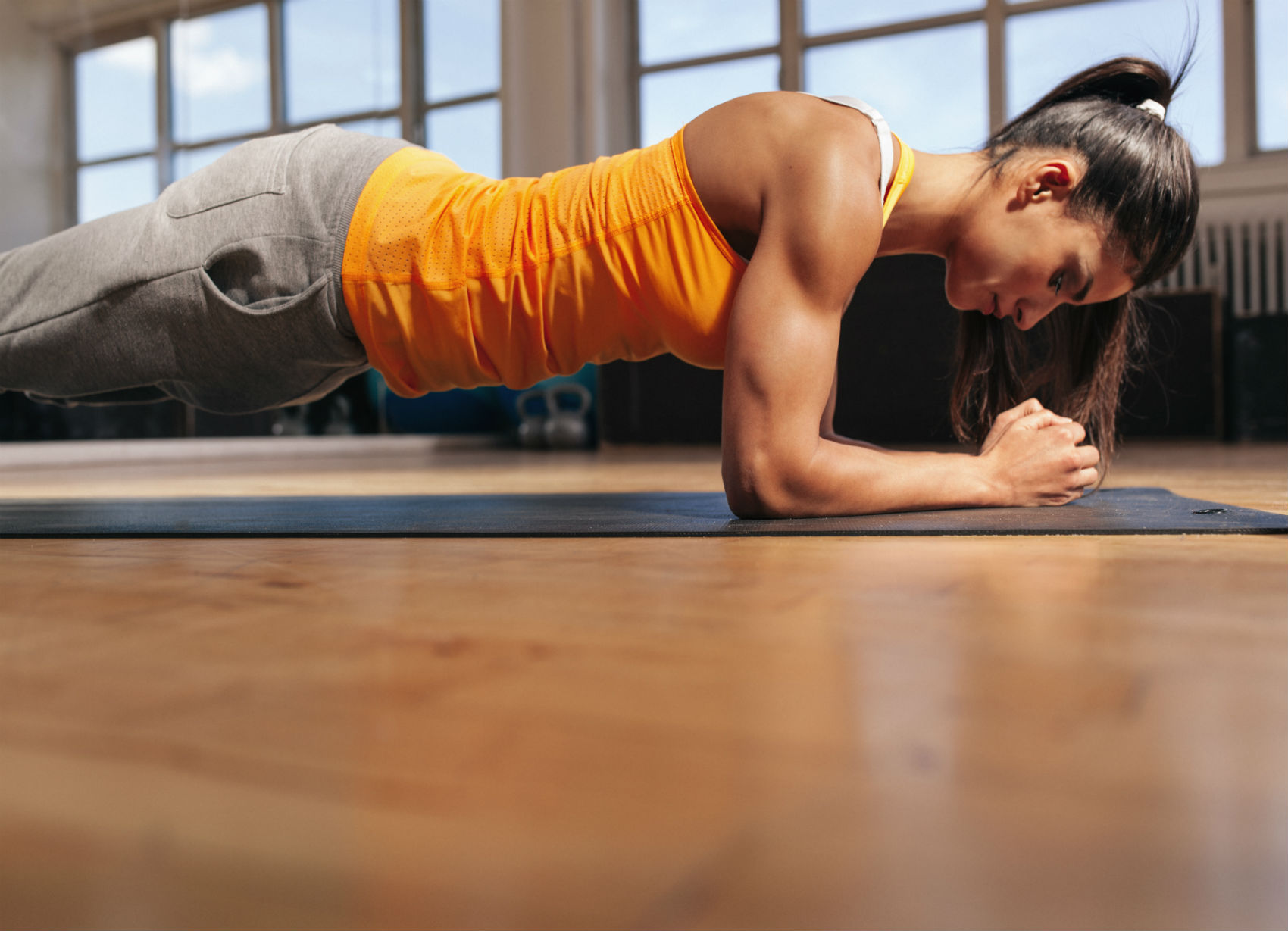 August Fitness Challenge: How Long Can You Hold a Forearm Plank?