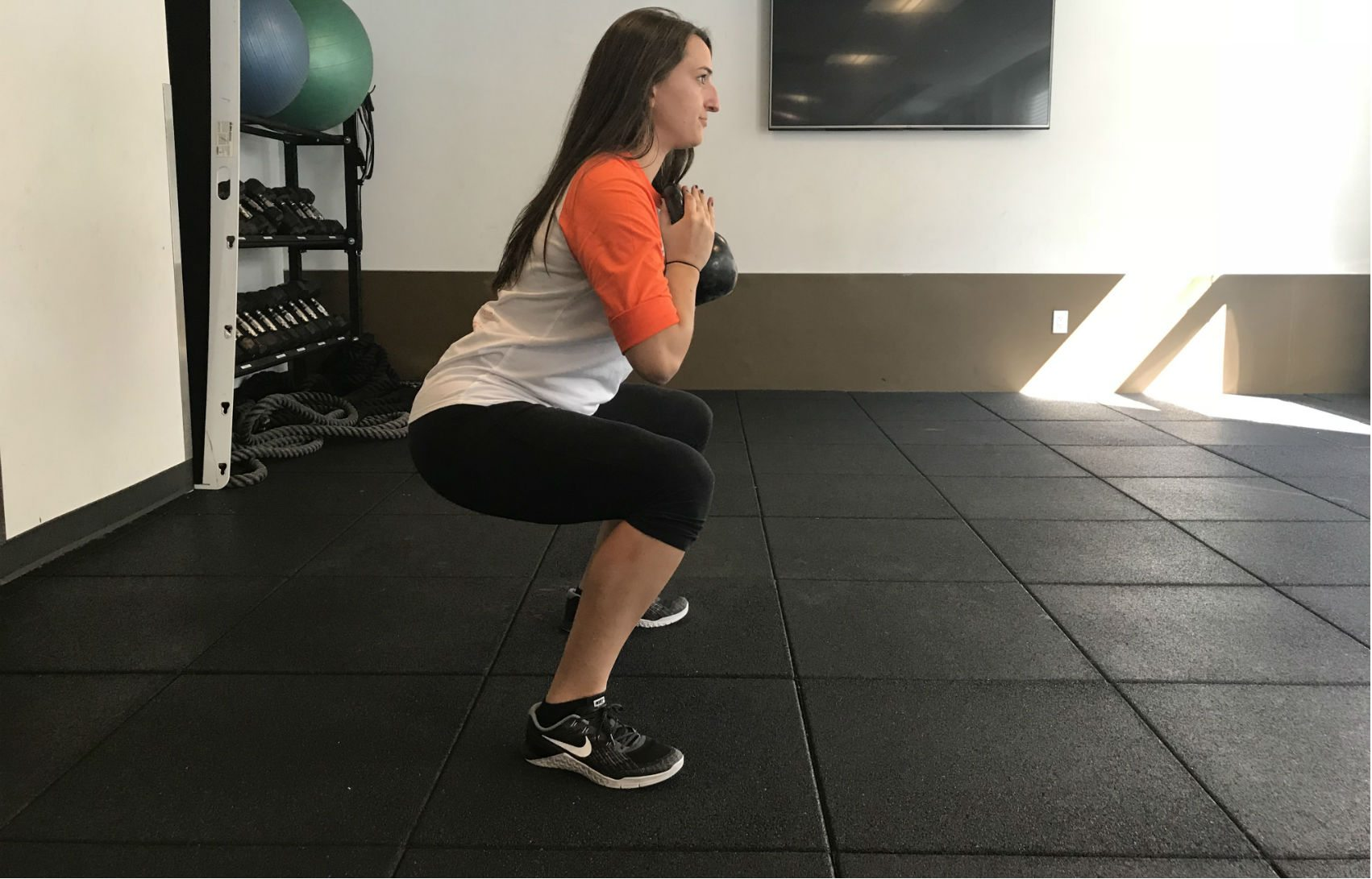 Monthly Fitness Challenge: How Many Goblet Squats Can You Do?